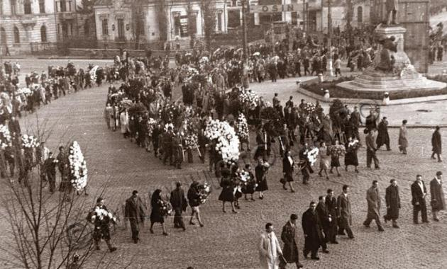 baia de sange de la 8 noiembrie 1945 greva regala