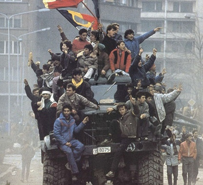 imagine revolutia din romania 1989