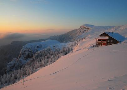 peisaj iarna ceahlau