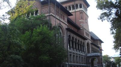 Cladirea pentru Muzeul Taranului Roman proiectata de nicolae ghica bucuresti
