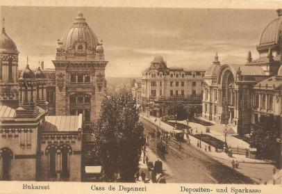 Bucuresti, Casa de depuneri anii 1910 - 1920