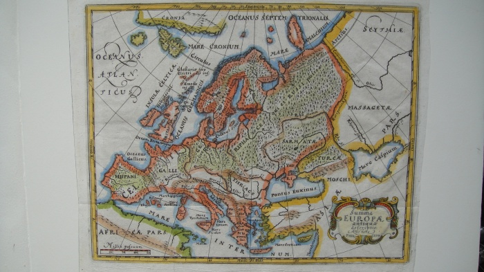 Cluverius 1661Eur