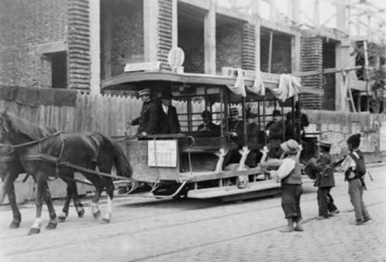 tramvai cu cai