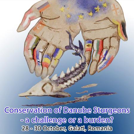 """Conferința Internațională """"Conservation of Danube Sturgeons - a challenge or a burden?"""", care va fi organizată de Universitatea """"Dunărea de Jos"""" din Galați în perioada 28-30 octombrie 2019"""
