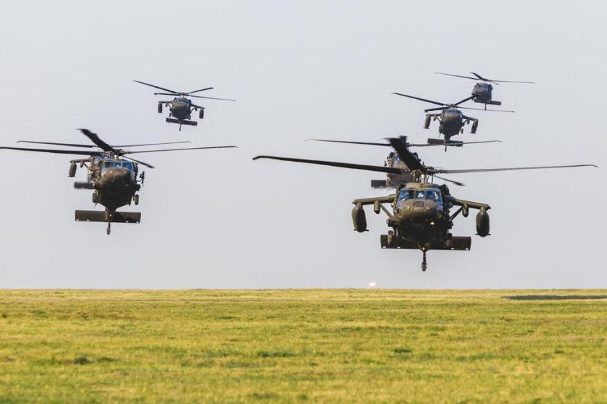 elicoptere americane in misiune la babadag
