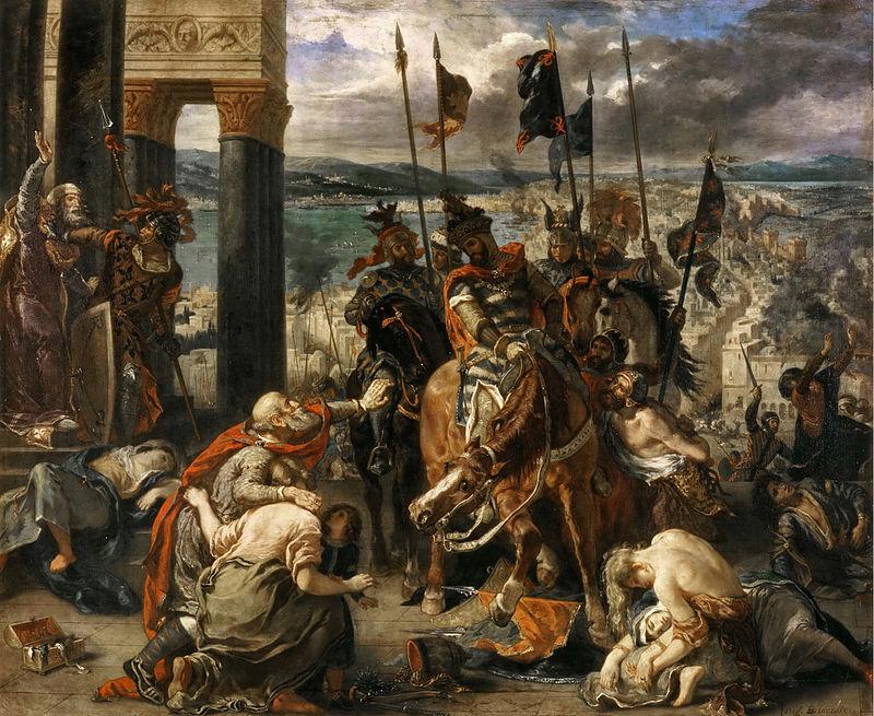 Intrarea cruciaților în Constantinopol