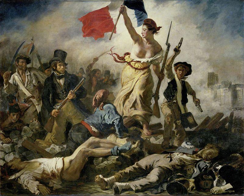 Libertatea conducând poporul