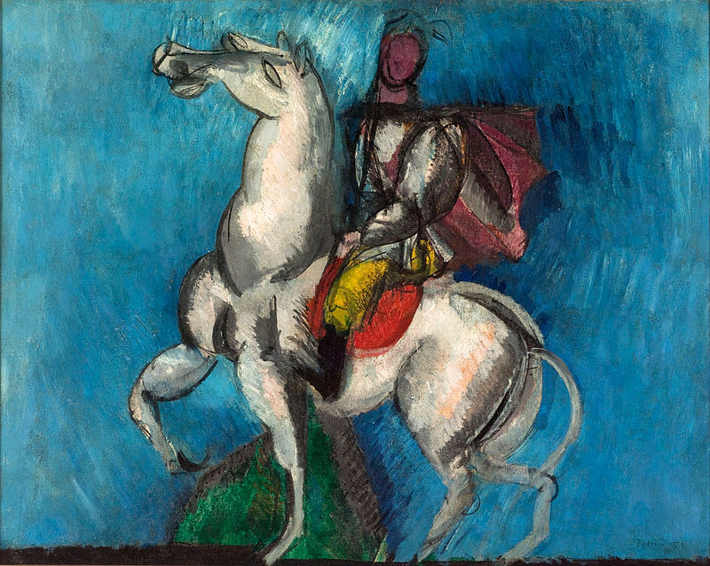 Raoul_Dufy,_1914,_Le_Cavalier_arabe